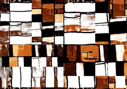 Pristowscheg. Digital Art. Abstract Art. Collage psicodélico 127x180 cm | 50x71 in