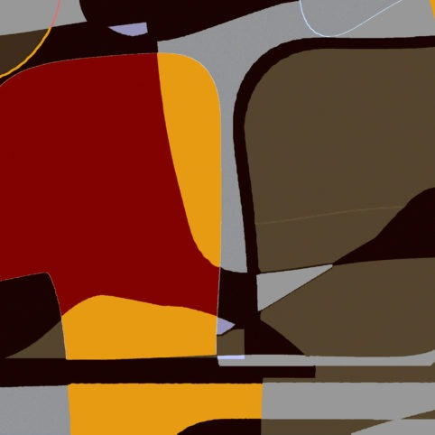 Pristowscheg. Digital Art. Abstract Art. UNTITLED 75x75 cm | 30x30 in