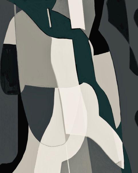 Pristowscheg. Digital Art. Abstract Art. Fascinant 75x60 cm | 30x24 in