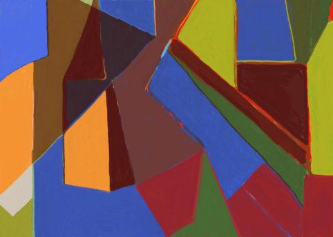 Pristowscheg. Digital Art. Abstract Art. Impromptu 76x106 cm | 30x42 in