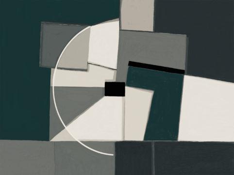 Pristowscheg. Digital Art. Abstract Art. Caléidos 75x100 cm | 30x40 in