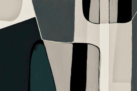 Pristowscheg. Digital Art. Abstract Art. Figuritt 60x90 cm | 24x36 in