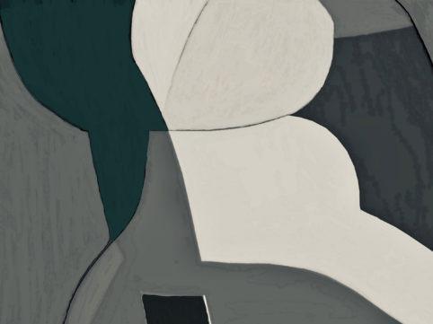 Pristowscheg. Digital Art. Abstract Art. FLOARE 75x100 cm | 30x40 in