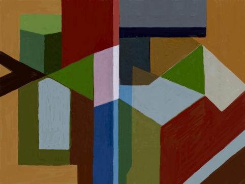 Pristowscheg. Digital Art. Abstract Art. TEMA 76X101 cm | 30x40 in