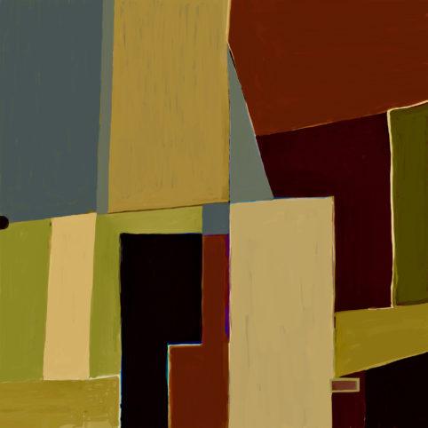 Pristowscheg. Digital Art. Abstract Art. Finse 100x100 cm | 40x40 in