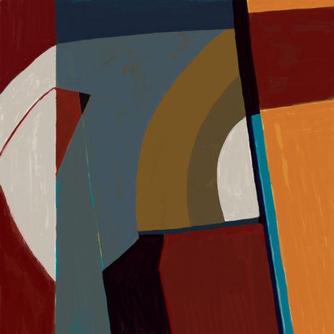Pristowscheg. Digital Art. Abstract Art. IMGE 2020 100x100 cm | 40x40 in