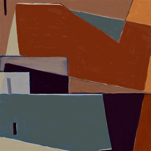 Pristowscheg. Digital Art. Abstract Art. Seka 100x100 cm | 40x40 in