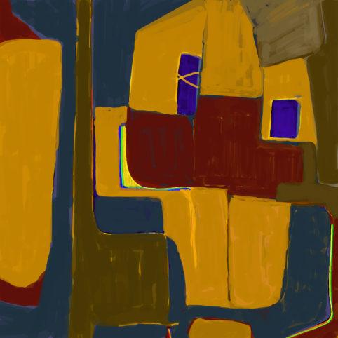 Pristowscheg. Digital Art. Abstract Art. Arcadio 100x100 cm | 40x40  in