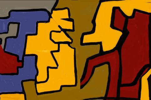 Pristowscheg. Digital Art. Abstract Art. ….Esfetafa esfe defe…. 100x150 cm | 40x60 in