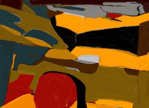 Pristowscheg. Digital Art. Abstract Art. Macondo 100x140 cm | 40x55 in