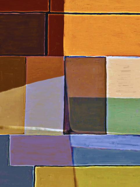 Pristowscheg. Digital Art. Abstract Art. Tema policromático 100x75 cm | 40x30 in