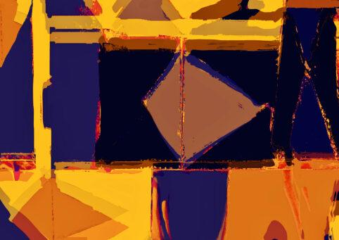 Pristowscheg. Digital Art. Abstract Art. COINCIDENCIA 75x105 cm | 30x42 in
