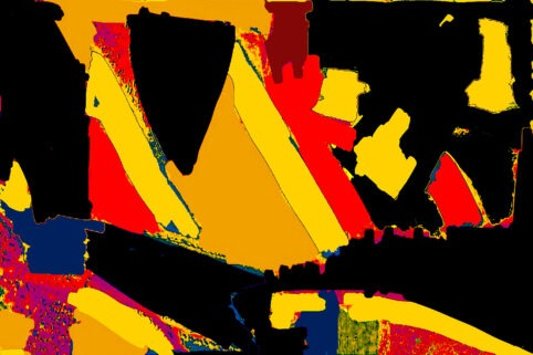 Pristowscheg. Digital Art. Abstract Art. CONCURRENCIA 75x115 cm | 30x45 in