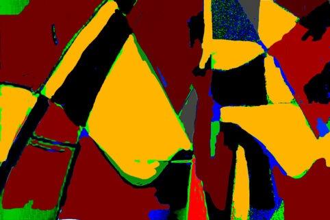 Pristowscheg. Digital Art. Abstract Art. ABSTRACTO 60x90  cm | 24x36 in