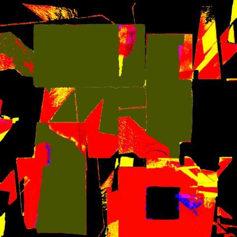 Pristowscheg. Digital Art. Abstract Art. CONSTRUCTA 100x100 cm | 40x40 in
