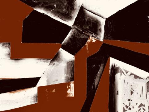 Pristowscheg. Digital Art. Abstract Art. ENIGMA 75x100 cm | 30x40 in