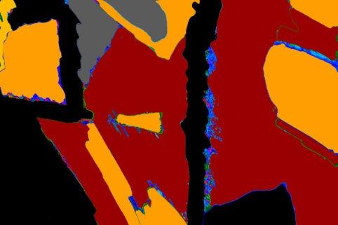 Pristowscheg. Digital Art. Abstract Art. ESENCIA 100x150 cm | 40x60 in