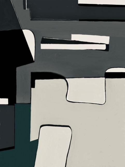 Pristowscheg. Digital Art. Abstract Art. FIGURITT 75x57 cm | 30x22,5 in