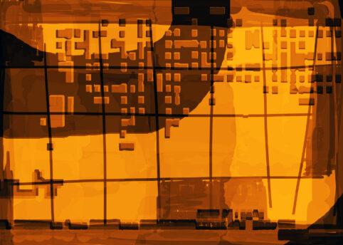 Pristowscheg. Digital Art. Abstract Art. GRAFHICOMANIA 75x105 cm | 30x42 in