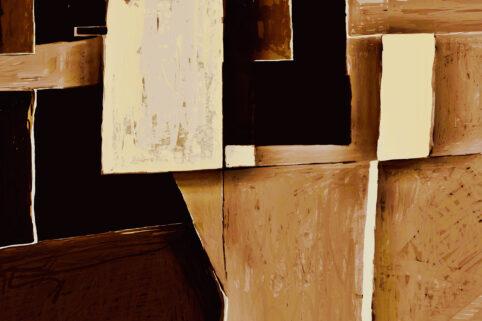 Pristowscheg. Digital Art. Abstract Art. IN|BÍLIQO 100x150 cm | 40x60 in