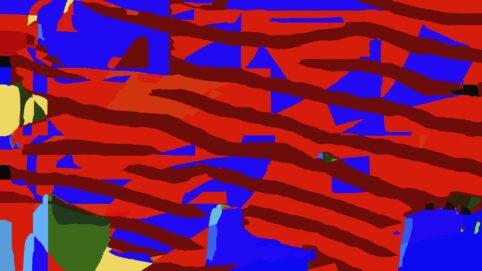 Pristowscheg. Digital Art. Abstract Art. INFINITIVE STRIPES 90x160 cm | 36x64  in