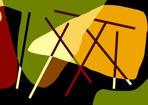 Pristowscheg. Digital Art. Abstract Art. INTERSECCIONES DIAGONALES 90x130 cm | 36x51 in