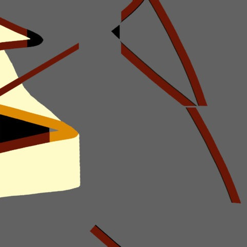 Pristowscheg. Digital Art. Abstract Art. MOTIVO ESTILIZADO 100x100 cm | 40x40 in