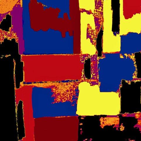 Pristowscheg. Digital Art. Abstract Art. PRESENCIA 100x100 cm | 40x40 in