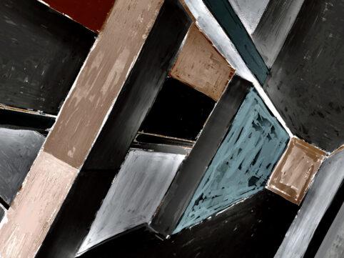 Pristowscheg. Digital Art. Abstract Art. PROFUNDIDAD  75x100 cm | 30x40 in