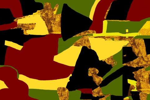 Pristowscheg. Digital Art. Abstract Art. SEPARATA 75x115 cm | 30x45 in