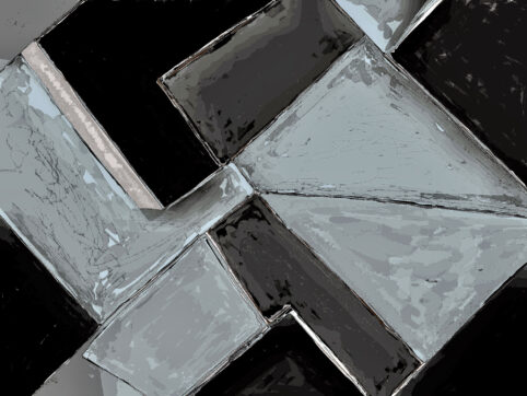 Pristowscheg. Digital Art. Abstract Art. TEOREMA DE LOS GRICES 75x100 cm | 30x40 in
