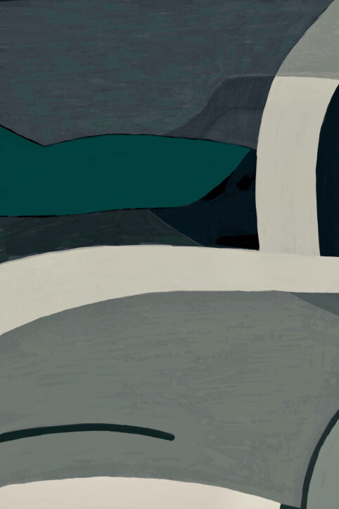 Pristowscheg. Digital Art. Abstract Art. TEPUY 90x60 cm | 36x24 in
