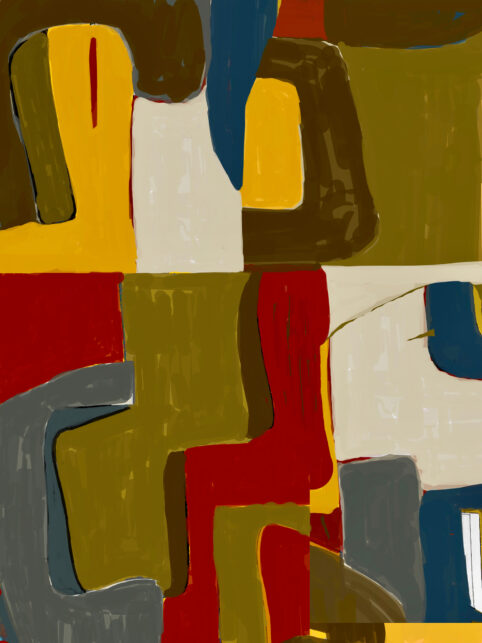 Pristowscheg. Digital Art. Abstract Art. ÚRSULA IGUARÁN 100x75 cm | 40x30 in