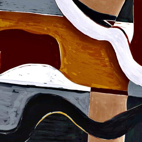 Pristowscheg. Digital Art. Abstract Art. VAGÜES 100x100 cm | 40x40 in