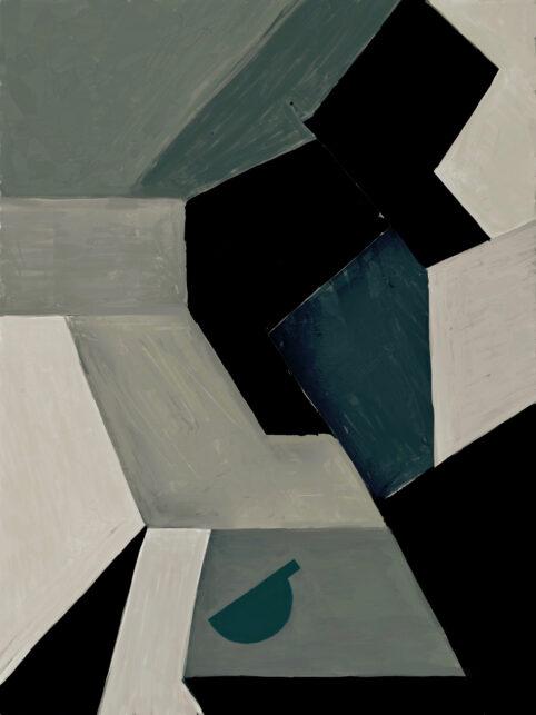 Pristowscheg. Digital Art. Abstract Art. VÉRTIGO 95x72 cm | 38x28 in