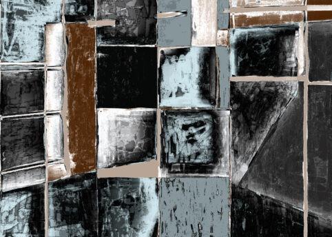 Pristowscheg. Digital Art. Abstract Art. X-SCOPÍA2020 75x105 cm | 30x42 in