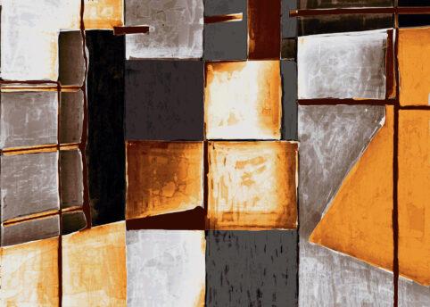 Pristowscheg. Digital Art. Abstract Art. CONTEXTO GEOMÉTRICO 100x140 cm | 40x56 in