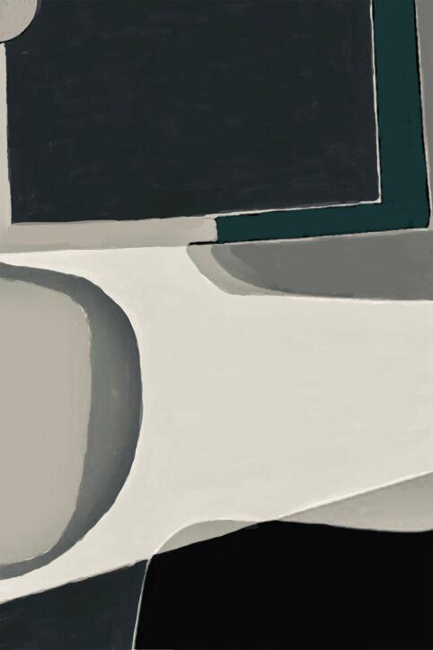 Pristowscheg. Digital Art. Abstract Art. CWADRAT 90x60 cm | 36x24 in