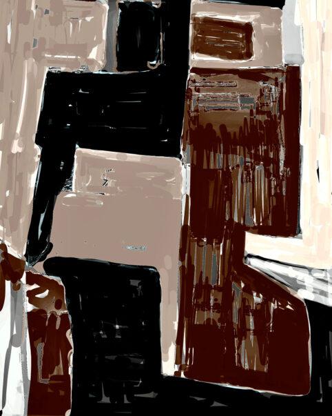 Pristowscheg. Digital Art. Abstract Art. FIGURATA 95x75 cm | 37,5x30 in