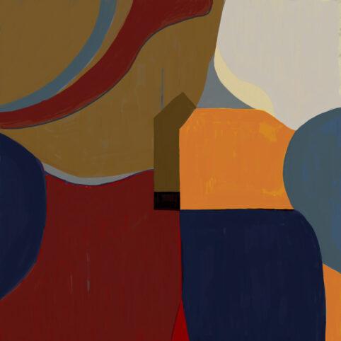 Pristowscheg. Digital Art. Abstract Art. OCCIDENTE 100x100 cm | 40x40 in