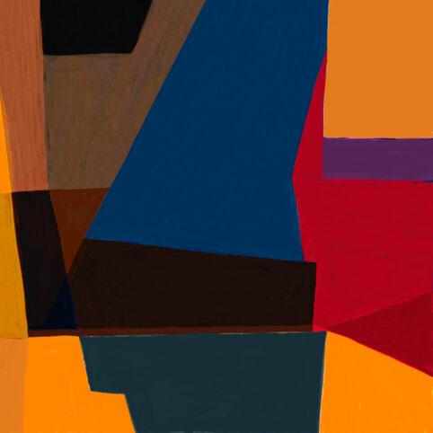 Pristowscheg. Digital Art. Abstract Art. TEMA AZUL 100x100 cm |  40x40 in