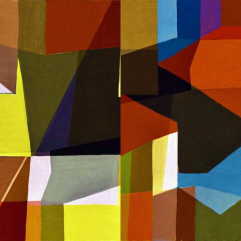 Pristowscheg. Digital Art. Abstract Art. COLLAGE 100x100 cm | 40x40 in